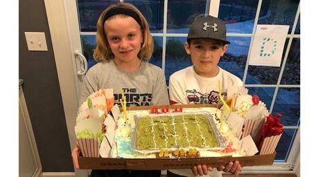 Kidsday reporters Julia Mennella and Matthew Kunkel of