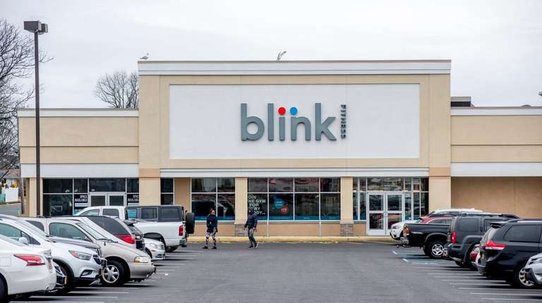 The Blink Fitness gym in Lindenhurst, which opened