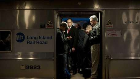 Long Island Rail Road commuters contend with more