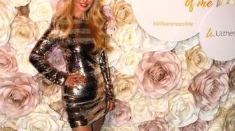 Christie Brinkley at her 65th birthday and launch