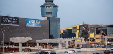 LaGuardia Airport saw a 2.3 percent increase in