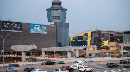 LaGuardia Airport saw a 2.3 percent increase in