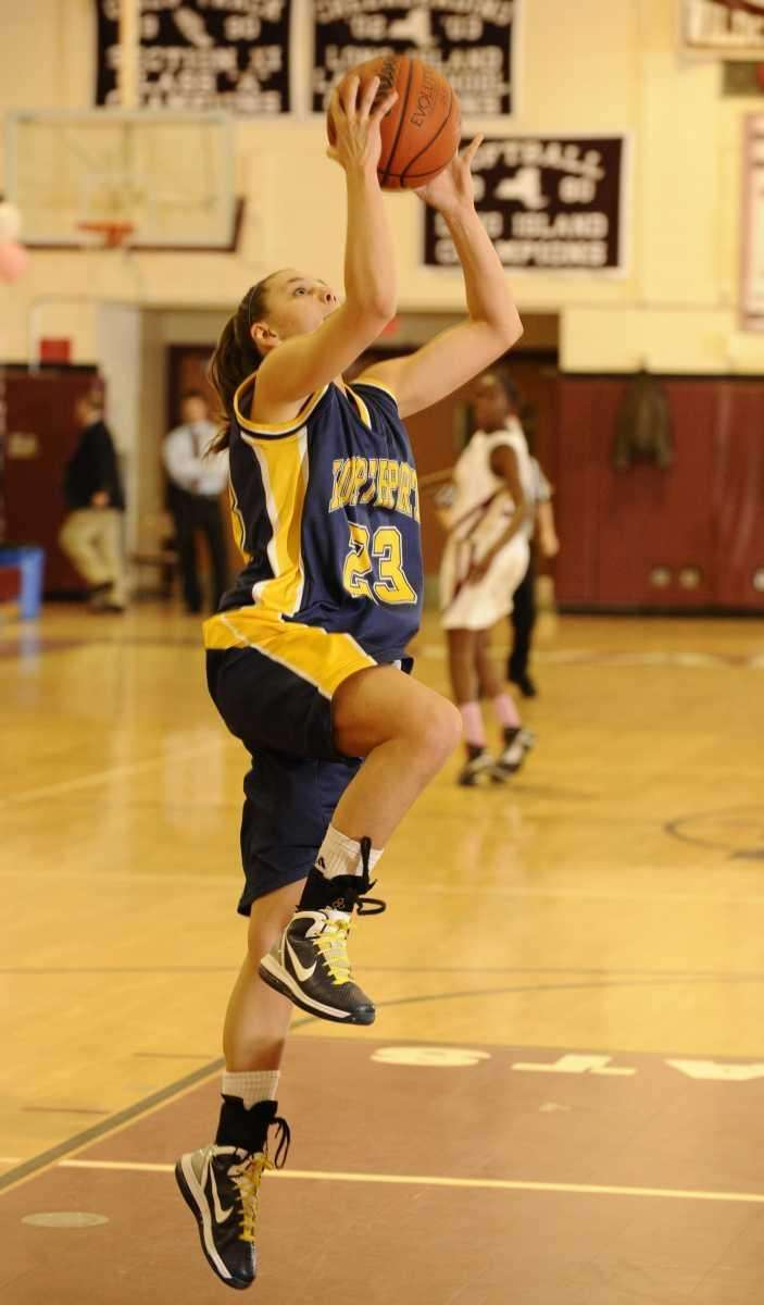 Northport's Chrystal Pope with a steal and layup