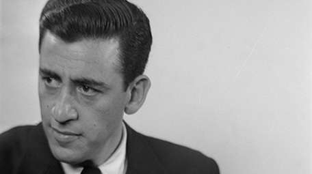 Author J.D. Salinger, in a photo taken for