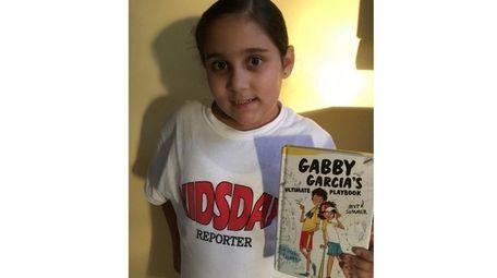 Kidsday reporter Trinity Garcia of Bretton Woods Elementary