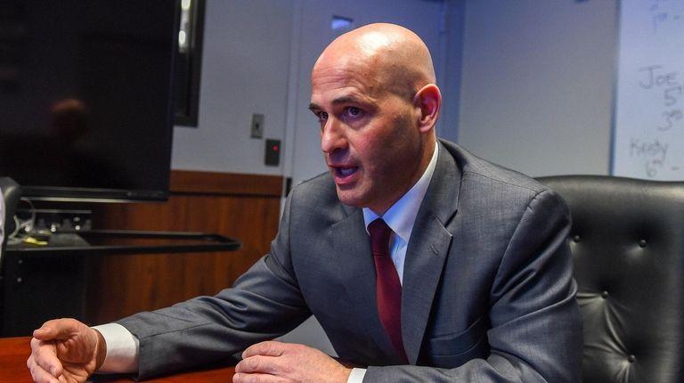 Suffolk Chief of Detectives Gerard Gigante talks about