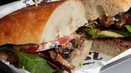 Roast Sandwich House in Melville features all-natural, whole