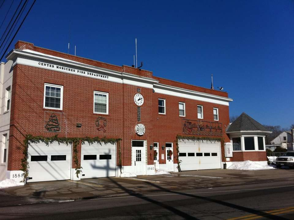 Center Moriches Fire Department on Main Street.