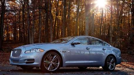 The newly restyled 2011 Jaguar XJ Supersport. (Undated)