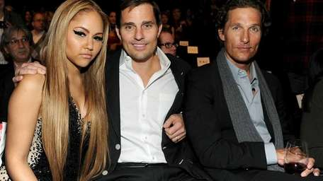 Kat DeLuna, Bill Rancic and Matthew McConaughey attend