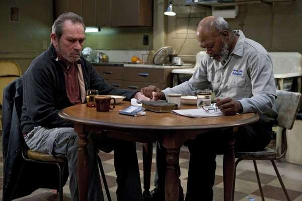 Tommy Lee Jones, left, and Samuel L.