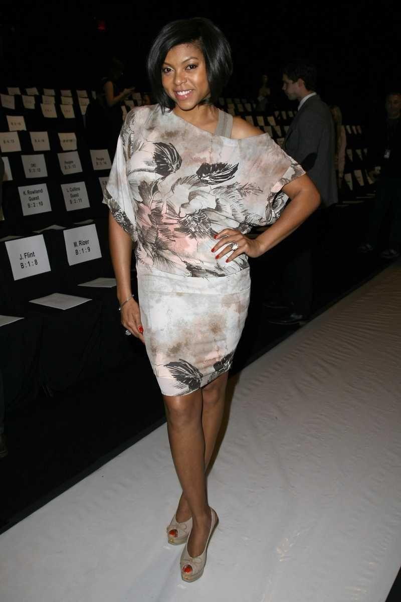 NEW YORK, NY - FEBRUARY 10: Actress Taraji