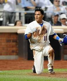 New York Mets second baseman Ruben Tejada #11