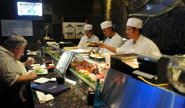 Photo of Sushi bar at Kumo Sushi in