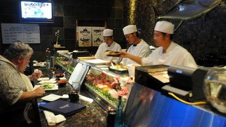 Photo of Sushi bar at Kumo Sushi in