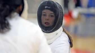 Oyster Bay's Rachel Kowalsky won the woman's Epee