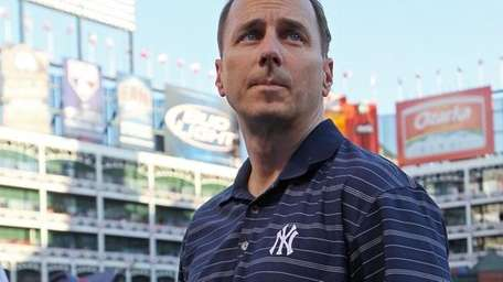 File photo of Yankees general manager Brian Cashman.
