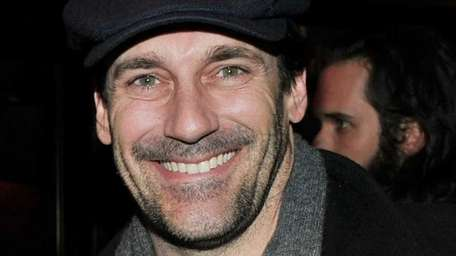 Actor Jon Hamm attends the after party following