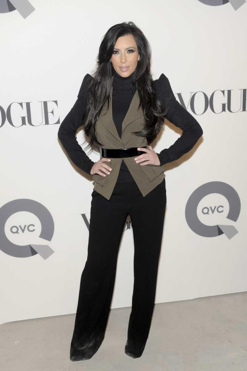 Kim Kardashian attends the QVC 25 To Watch