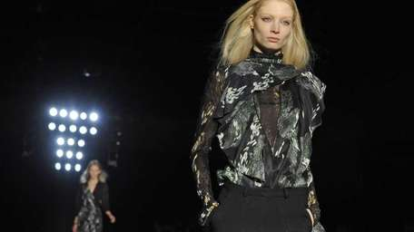The fall 2011 collection of the Edun label,