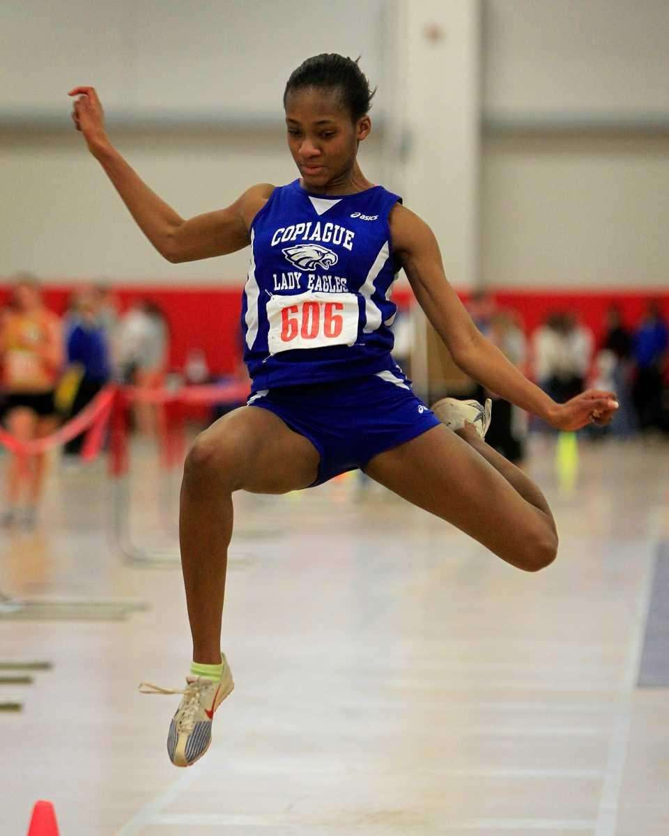 Janel Francis of Copiague finished second in the
