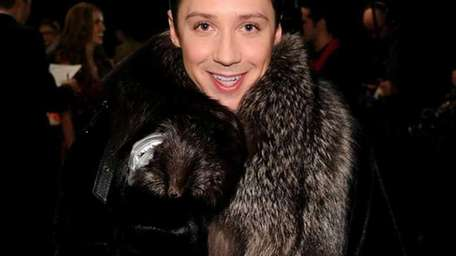 Figure skater Johnny Weir attends the Heart Truth's