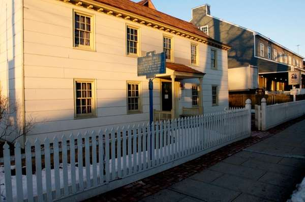 The Raynham Hall Museum, located on West Main