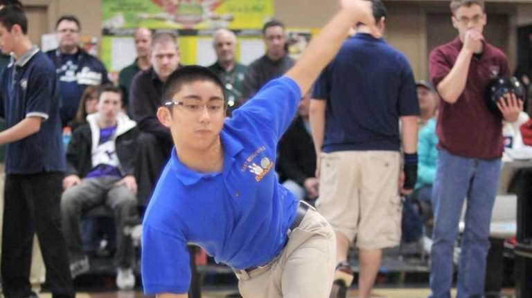 East Meadow's Jeff Juarez, during the Boys and