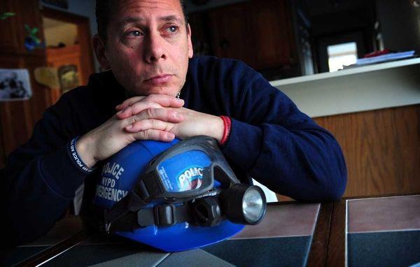 Portrait of Retired NYPD Detective Glen Klein in