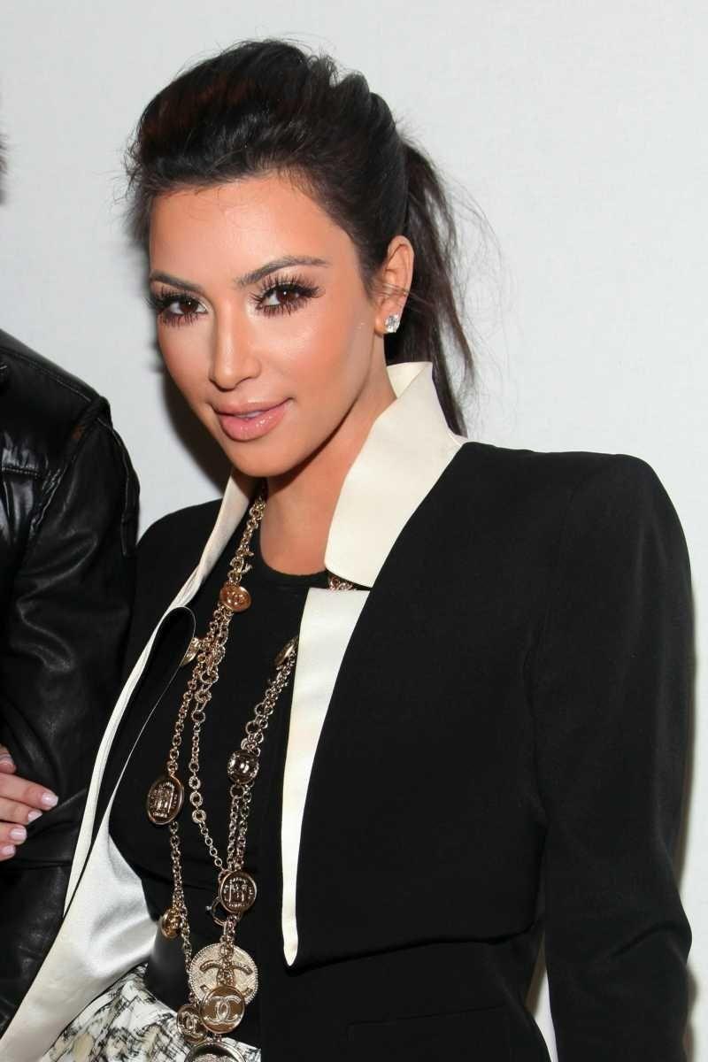Kim Kardashian attends the Charlotte Ronson Fall 2011