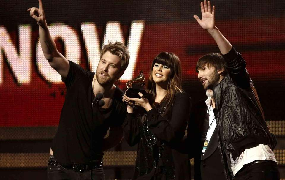 Charles Kelley, Hilary Scott and Dave Haywood of