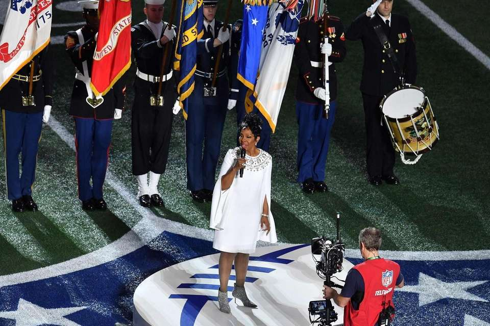 Motown legend Gladys Knight performs the Amercam National