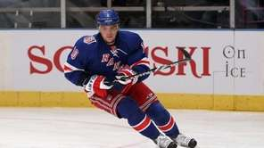 Marian Gaborik #10 of the New York Rangers