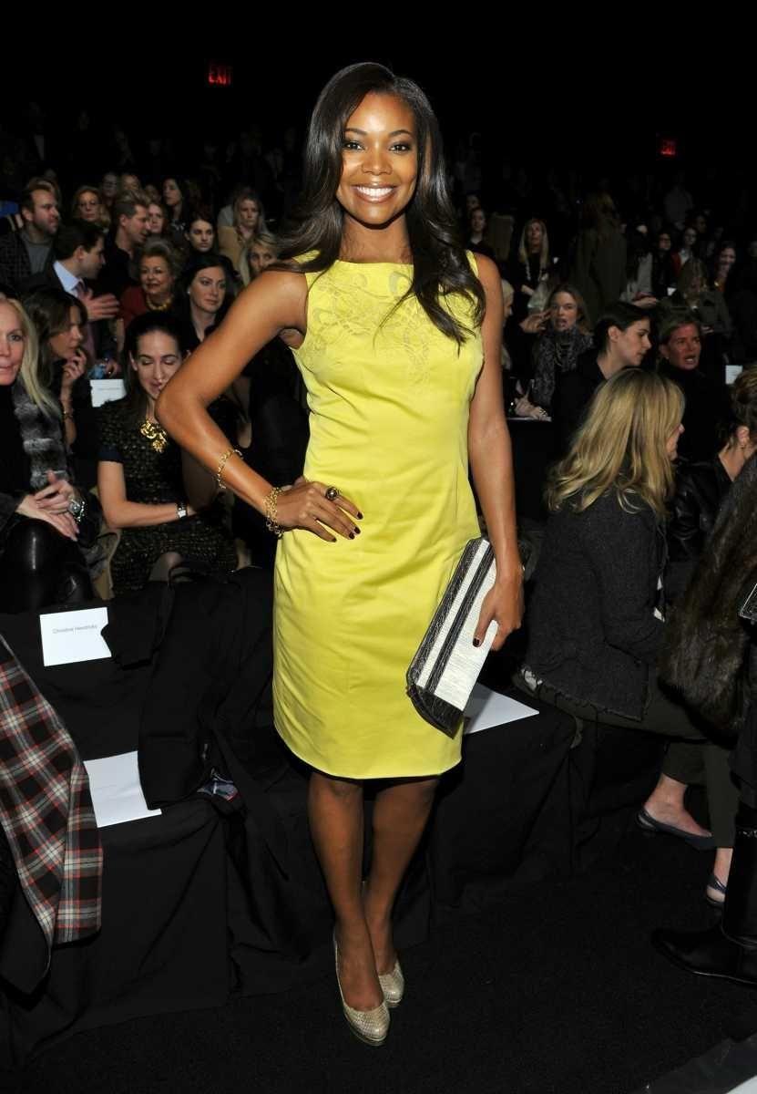 NEW YORK, NY - FEBRUARY 14: Actress Gabrielle