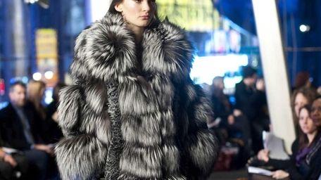 Fall 2011 fashion from designer Carmen Marc Valvo