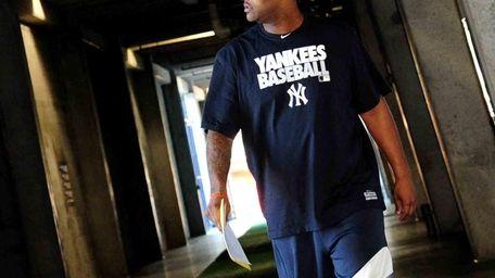 Yankees ace C.C. Sabathia arrives for spring training
