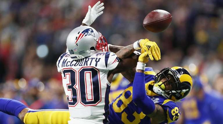 Jason McCourty #30 of the New England Patriots