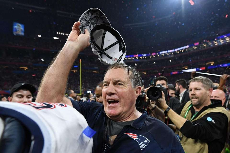 Head Coach Bill Belichick of the New England