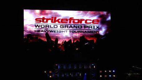 The Strikeforce Grand Prix heavyweight tournament began at