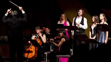 The Long Island Opera singers and musicians performing