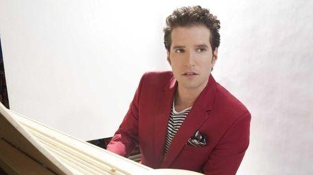 Singer-songwriter-pianist Matt White plays the Boulton Center on