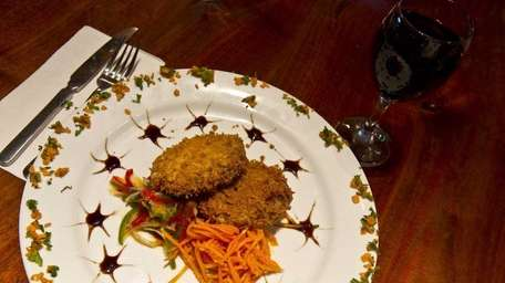 You can make crab cakes like these at