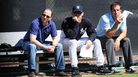New York Yankees general manager Brian Cashman, manager