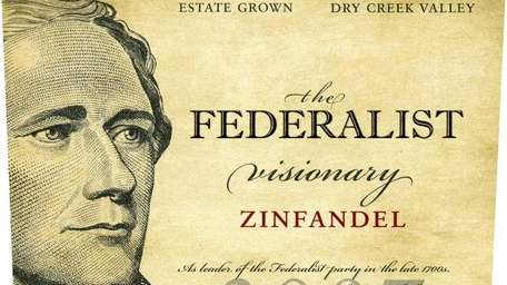 The 2008 The Federalist Zinfandel ($25) sports Alexander