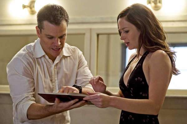 "Matt Damon stars in the romantic thriller, ""The"