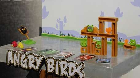 Mattel Angry Birds Knock on Wood