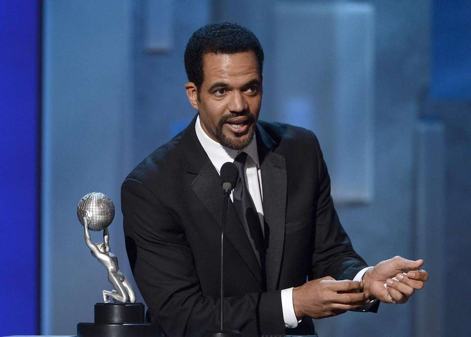 Actor Kristoff St. John, best known as a