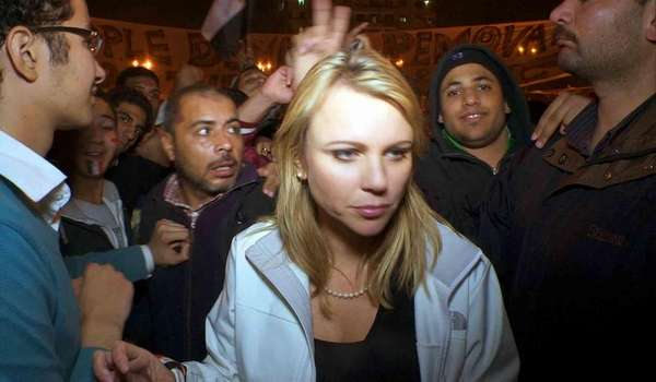 lara logan attacked in egypt raw video. CBS: Lara Logan recovering