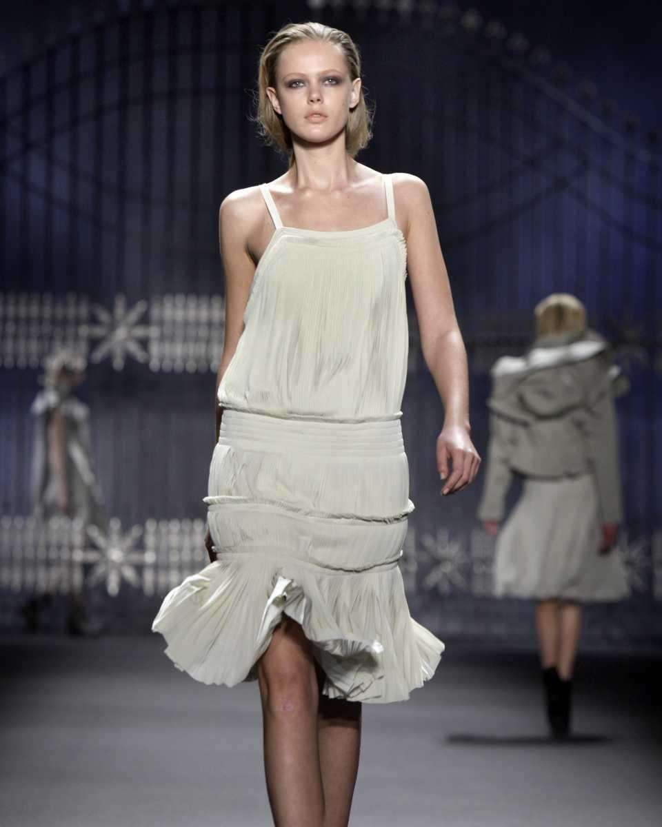 The fall 2011 collection of designer Vera Wang