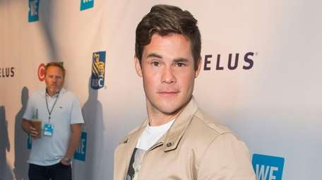 Adam Devine, seen on Sept. 20. 2018, is